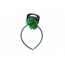 Flower Bobble & Band - Bottle Green